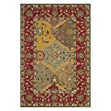 Safavieh Easy to Care Collection EZC761A Handmade Multi and Red Area Rug (2′ x 3′) Review