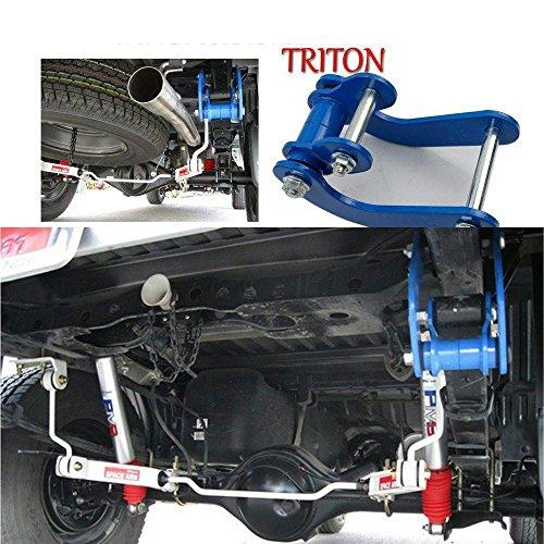 Rear Leaf Spring G-Shackle Standard Lift Kit Fit For Mitsubishi Triton 2015 Onward