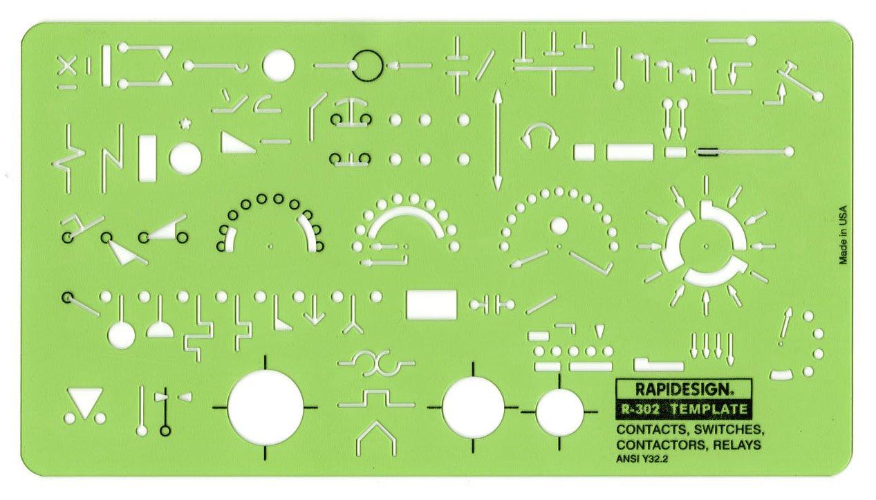 Amazon Rapidesign Electricalelectronics Symbol Templates Set