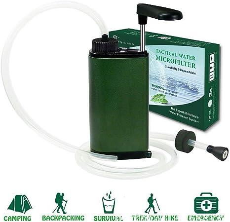XCHUNA Filtro de Agua Personal, Mini portátil de purificador de ...