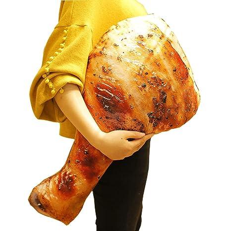 Forma creativa de la pierna de pollo almohada divertida ...