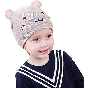 fd08e9c02b8 Xshuai Baby Hat for 3-18 Months Kids Fashion Cute Newborn Toddler Baby Boys  Girls