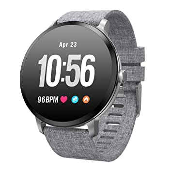 Teamyo Reloj Inteligente con rastreador de Ejercicios, monitorizador de Actividad con Monitor de Ritmo cardíaco: Amazon.es: Deportes y aire libre