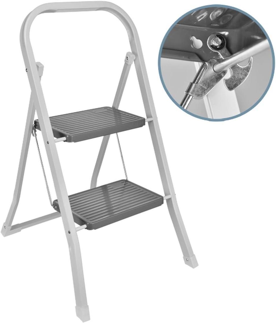50 cm 2 Stufen Tritt Stufentritt 2 Stufen Stufentritt klappbar Leiter