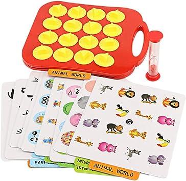Toyvian Juego de Memoria Juego de Mesa para Niños: Amazon.es: Juguetes y juegos
