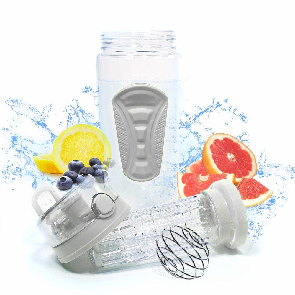 Botella de agua con infusor de frutas 32oz nueva fruta Infusión ...