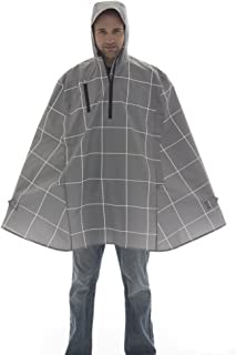 product image for Cleverhood Electric Gingham Waterproof Rain Cape