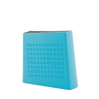 Kapoosh Aqua Blue Universal Knife Block