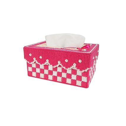 L&Y Cajas Caja creativa personalizada europea personalizada del tejido de la sala de estar del dormitorio