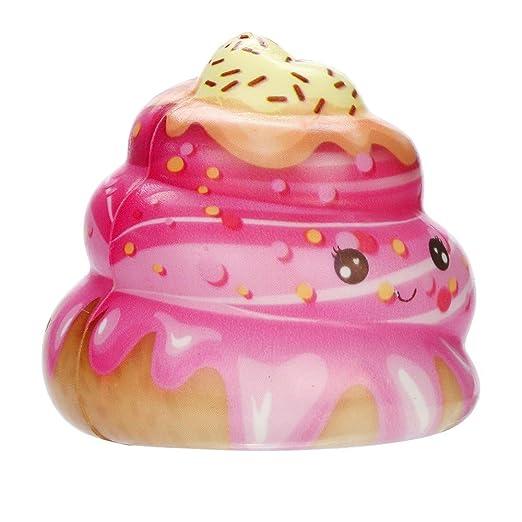 Fossrn Juguete de Galaxy Ciervo Kawaii Grande Animales con Perfumados Olor Juguetes de compresión (Cake Pop/ 7x7x7cm): Amazon.es: Electrónica