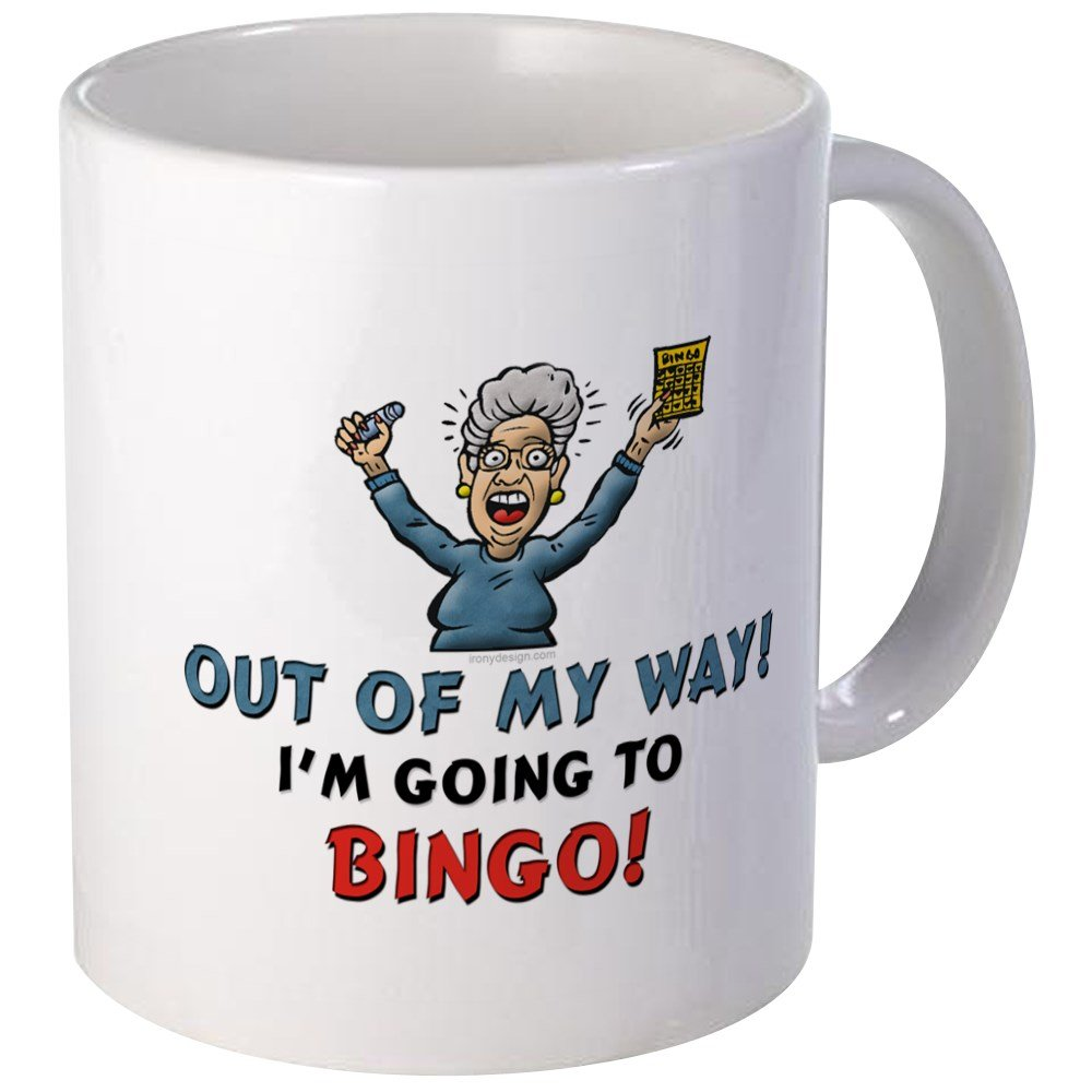 CafePress - BINGO!! Mug - Unique Coffee Mug, Coffee Cup by CafePress