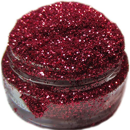 Lumikki Cosmetics Glitter Makeup - Cool Red - ACROBAT - Super Pigmented & Rich Color! - Cruelty Free - Professional Quality - 5G Volume/2.5G Weight Jar