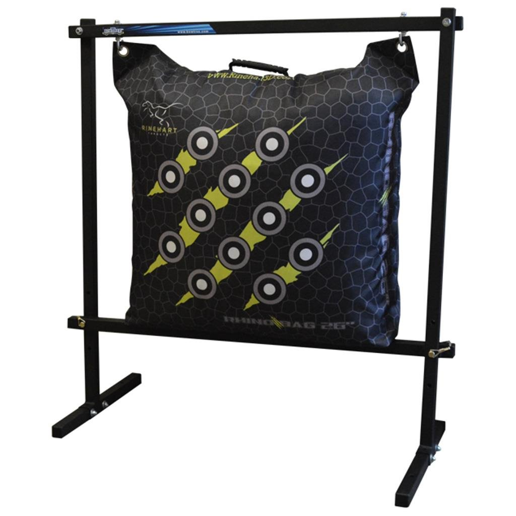 Rinehart 18740 Flexible and Durable Hanging Bag Stand in Black Color by Rinehart Targets (Image #1)