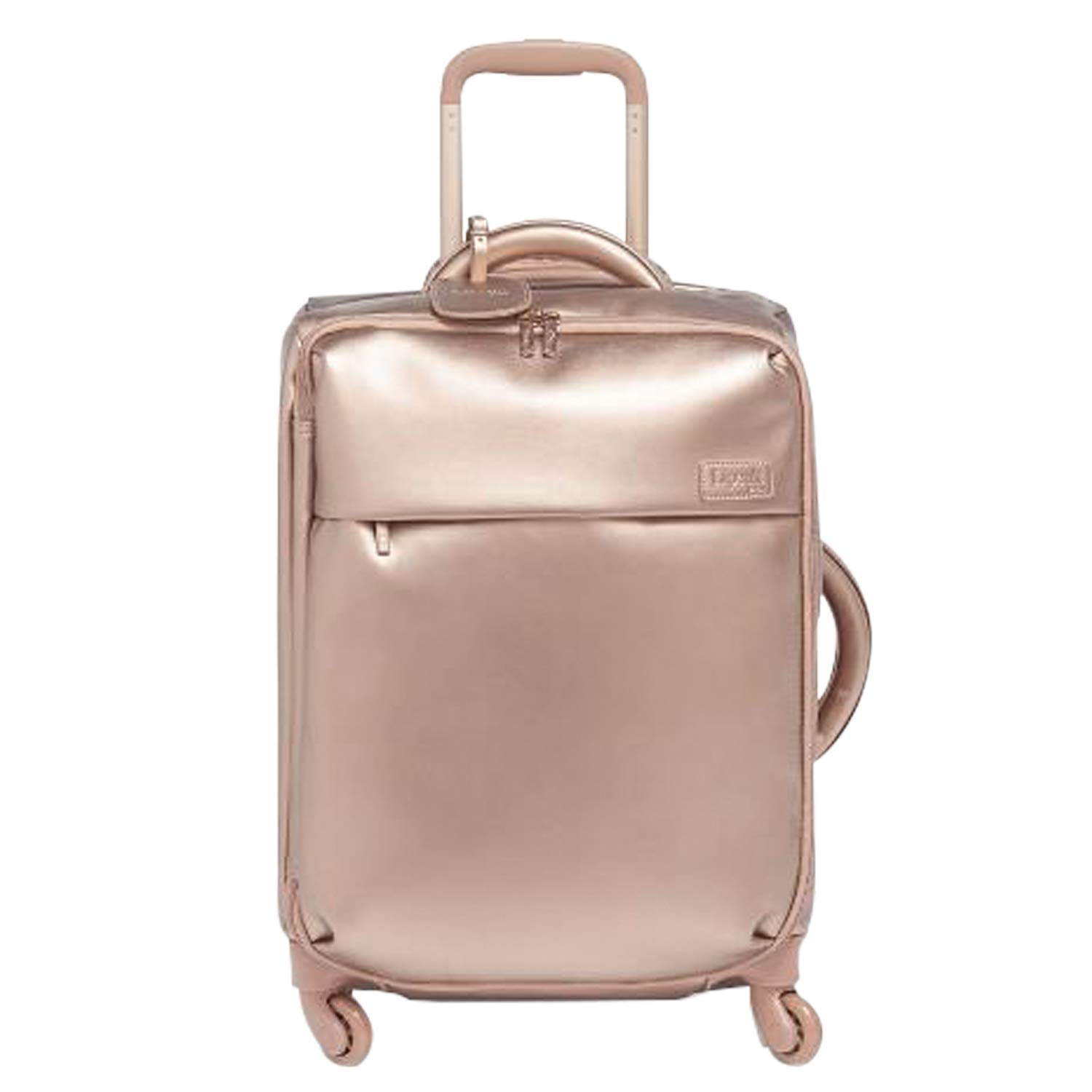 Lipault - Miss Plume Spinner 55/20 Luggage - Carry-On Rolling Bag for Women - Pink Gold