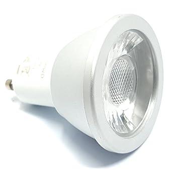 Bombillas LED GU10 de luz blanca cálida de 6 W regulable RoHS (Hero1-400WD