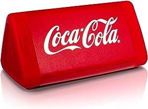 OontZ Angle 3 Coca-Cola Edition - Enhanced Stereo IPX5 Splashproof Bluetooth Speaker with AMP 10 Watts Power, Bass Radiator, 100' Wireless Range Bluetooth 4.2 (Red-Coke)