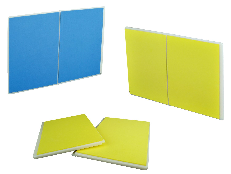 PROWIN1 Set of 2 Rebreakable Breaking Boards Martial Arts Karate TKD- Yellow/Blue by PROWIN1