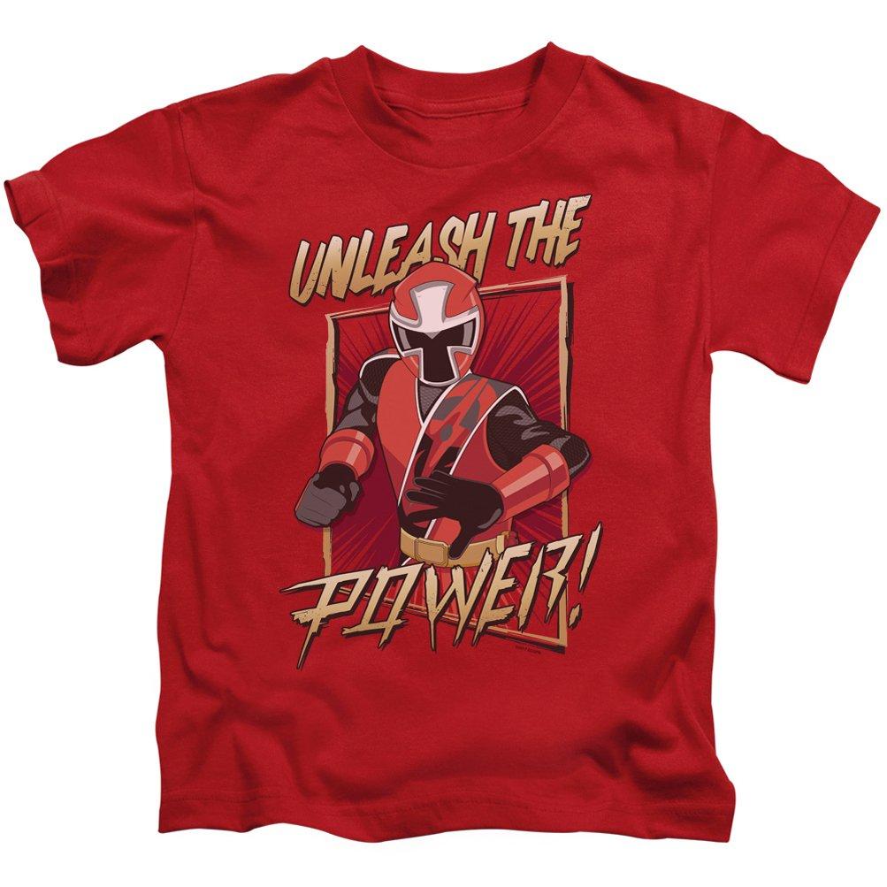 A&E Designs Kids Power Rangers Ninja Steel T-Shirt Unleash Tee Shirt