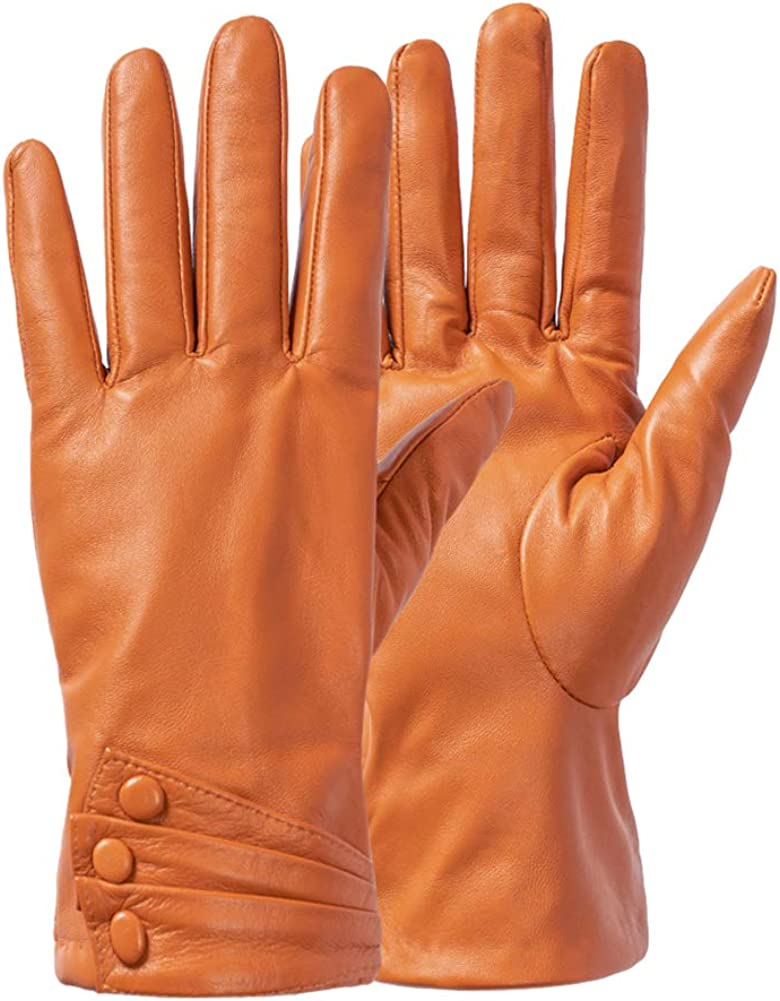 Women Leather Gloves...