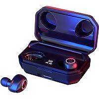 144 Horas de Reproducción con Nuestros Auriculares Inalámbricos, con Bluetooth 5.0 Auriculares Estéreo e Inalámbricos…