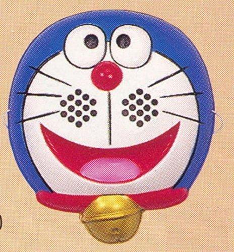 [Japanese Omen Children Kid Halloween Costume Doramon Face Mask Made In Japan] (Cat Sushi Halloween Costume)