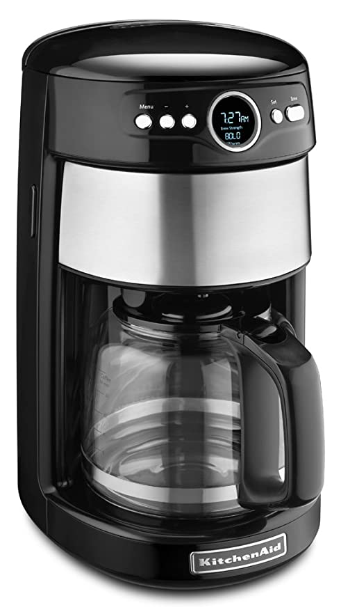 KitchenAid KCM1402OB - Cafetera (Independiente, Cafetera de filtro ...
