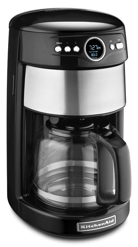 KitchenAid KCM1402OB 14 -Cup Glass Carafe Coffee Maker - Onyx Black