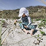 SwimZip UPF 50+ Boys Long Sleeve Sunsuit | Palm