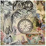 CafePress - Cheshire Cat Alice In Wonderland - Tile Coaster, Drink Coaster, Small Trivet