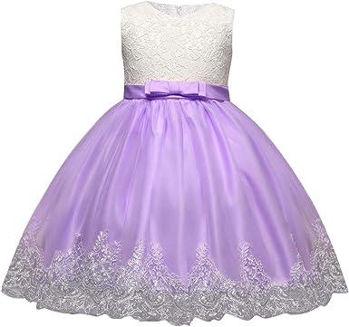 K Youth Vestidos Niña Vestido Ceremonia Niña Vestido De Fiesta Niña Encaje Arco Tutú Vestidos Para Ninas Para Boda Vestido De Princesa Niñas Vestido Bebe Niña Bautizo Ropa Niña Amazon Es Ropa Y Accesorios
