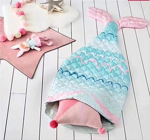 YSJL - Saco de Dormir para niños y niñas, diseño de Cola de Sirena ...