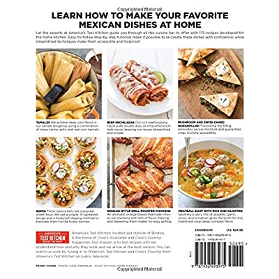 Buy The Best Mexican Recipes Kitchen Tested Recipes Put The Real Flavors Of Mexico Within Reach Paperback Illustrated April 15 2015 Online In Indonesia 1936493977