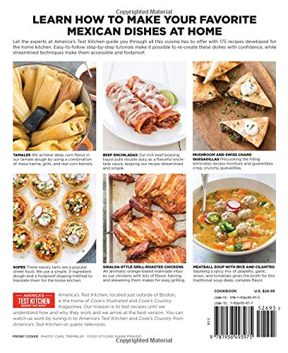 The Best Mexican Recipes: Kitchen-Tested Recipes Put the Real Flavors of Mexico Within Reach by America s Test Kitchen (Image #3)
