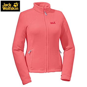 Details about Jack Wolfskin Moonrise Fleece Jacket Womens Camping Hiking Outdoors