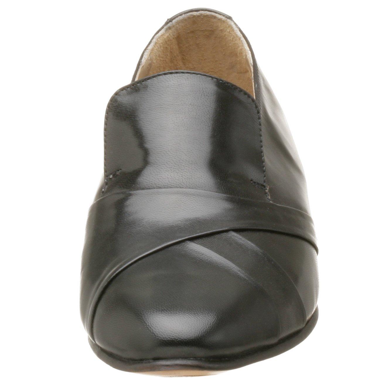 Giorgio Brutini Bernard Hombre Negro Grande Piel Mocasines Zapatos ...