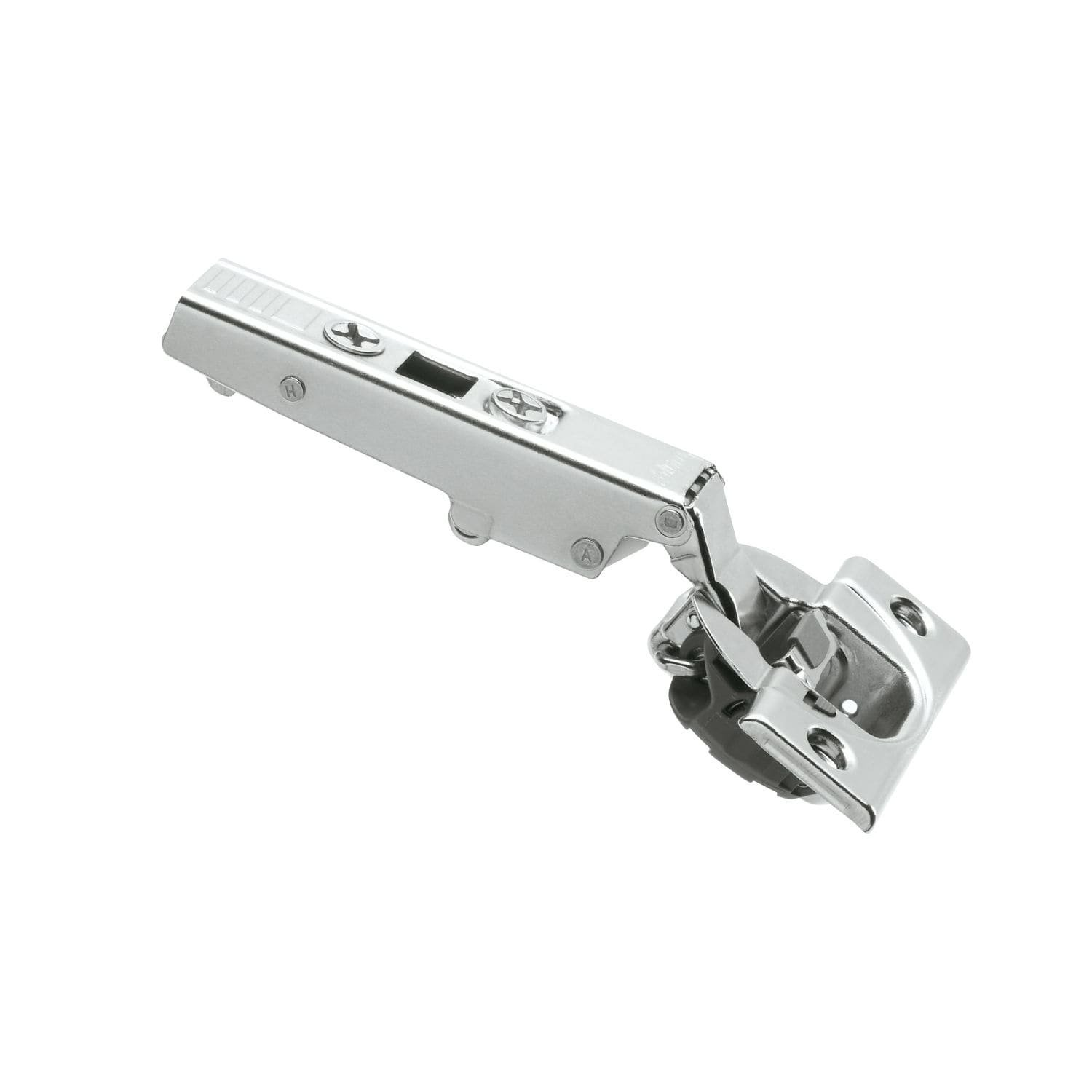 Blum Rok Hardware 50 Pack 110 Degree Straight Arm Clip Top otion Overlay Screw-On Self Closing Soft Close Cabinet Hinge