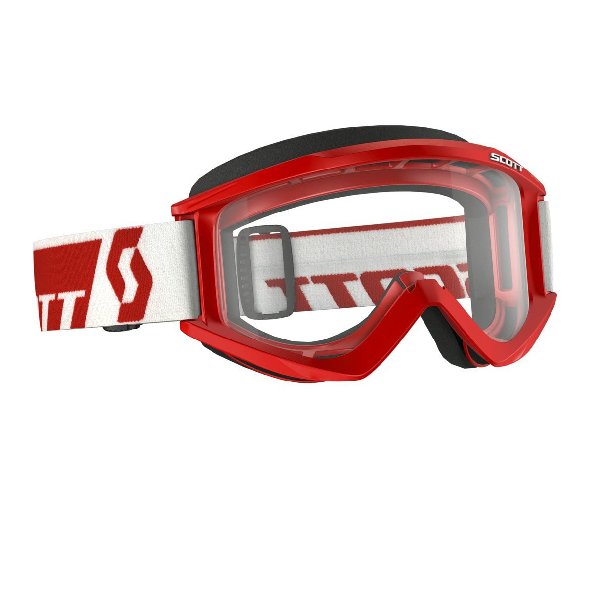 Scott Sports Recoil Xi Goggles with Standard AFC Lens (Red Frame/Clear Lens)