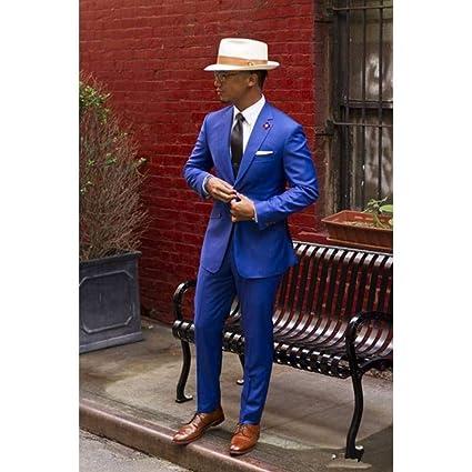 GFRBJK Classic Men Suit 2Pieces (Chaqueta + pantalón + Corbata ...