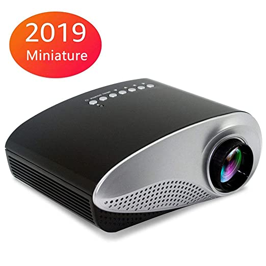 Mini Proyector VíDeo,Proyector Portatil Nativo,Proyector HD 1080P ...