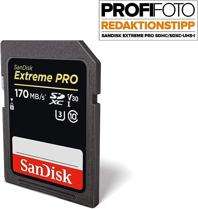 Sandisk Extreme Pro 64 Gb Sdxc Speicherkarte Mit Bis Zu Computer Zubehör