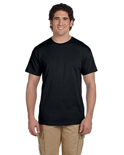 d32225c34996a0 Amazon.com  Fruit of the Loom HD Cotton Short Sleeve T-Shirt  Clothing