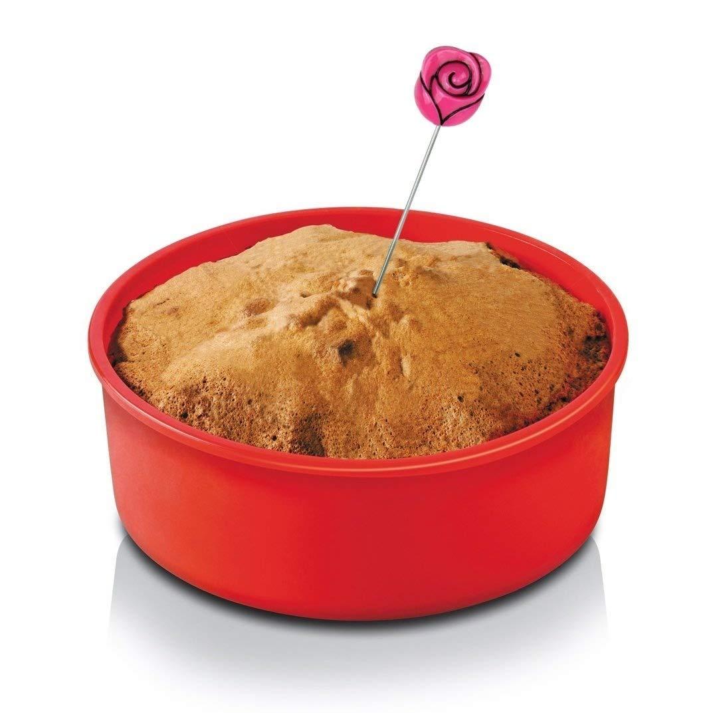 Happy Sales HSCT-CCT2, 1PC Cake Tester Skewer Baking Cooking Tool Cupcake Design.