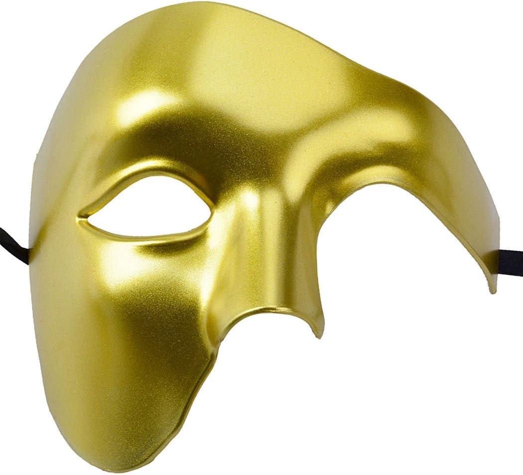 Outgeek Máscara de máscara de media cara Fantasma de la máscara de ...
