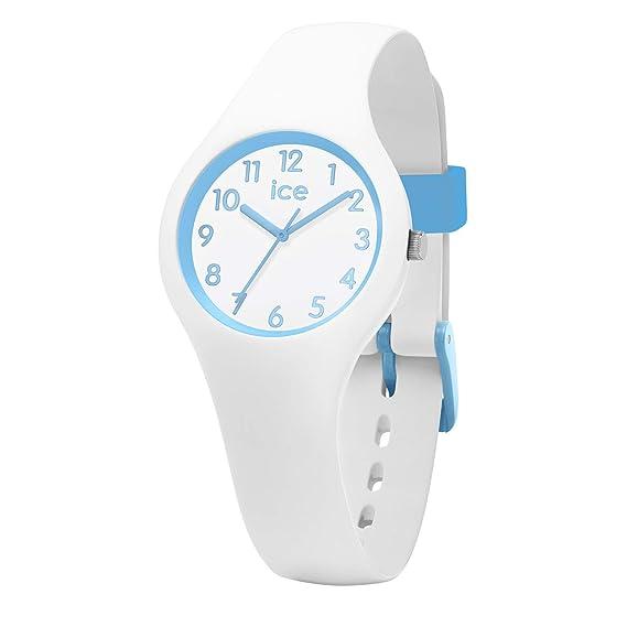 Ice-Watch Reloj Analógico para Niños de Cuarzo con Correa en Silicona 15348: Amazon.es: Relojes
