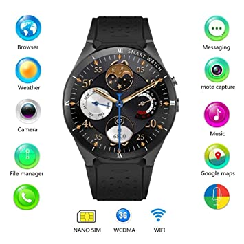 Tomorrow Sun Shine Reloj Inteligente 3G Android 7.0 Cámara ...