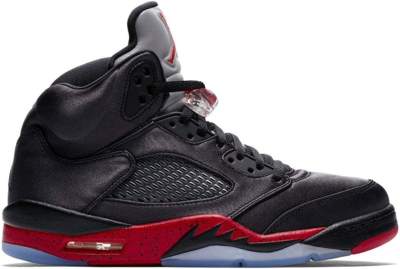 "Toddlers Brand New Jordan 5 Retro /""Satin/"" Baby Athletic Sneakers 440890 006"