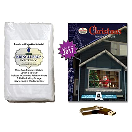 atmosfearfx christmas digital decorations kit on usb stick includes kringle bros 60 x 40 - Christmas Digital Decorations