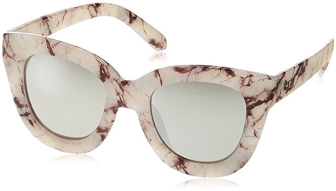 db6a9cc8ca Sunglasses QUAY SUGAR AND SPICE White Cat-eye  Amazon.ca  Clothing ...
