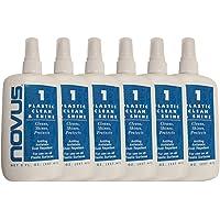 NOVUS PC-10 Plastic Clean & Shine - 8 oz. - 6 Pack