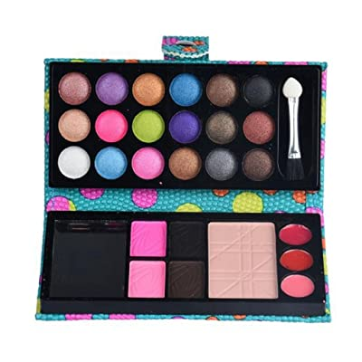 26Colors Cosmetic Palette Eye Shadow ipstick High light Face Shadow Function Makeup Powder (ADQ-B)